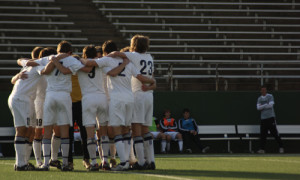 Boys soccer undefeated and uncontested in district play