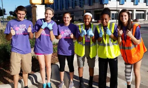 Student Council encouraged students to get involved around the community on Teens Make a Difference Day, Oct. 25.