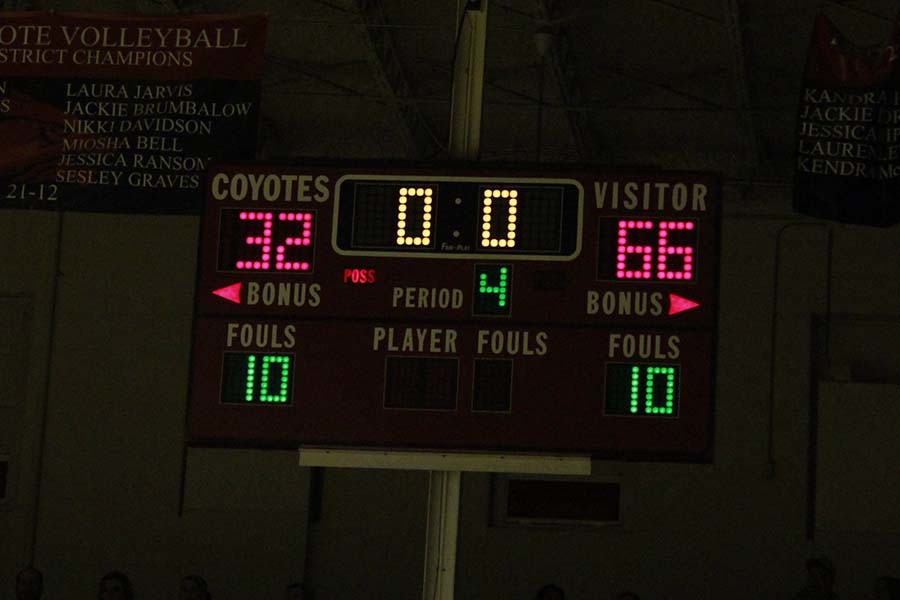 The Lady Raiders beat the Coyotes 66-32 on Jan. 23.