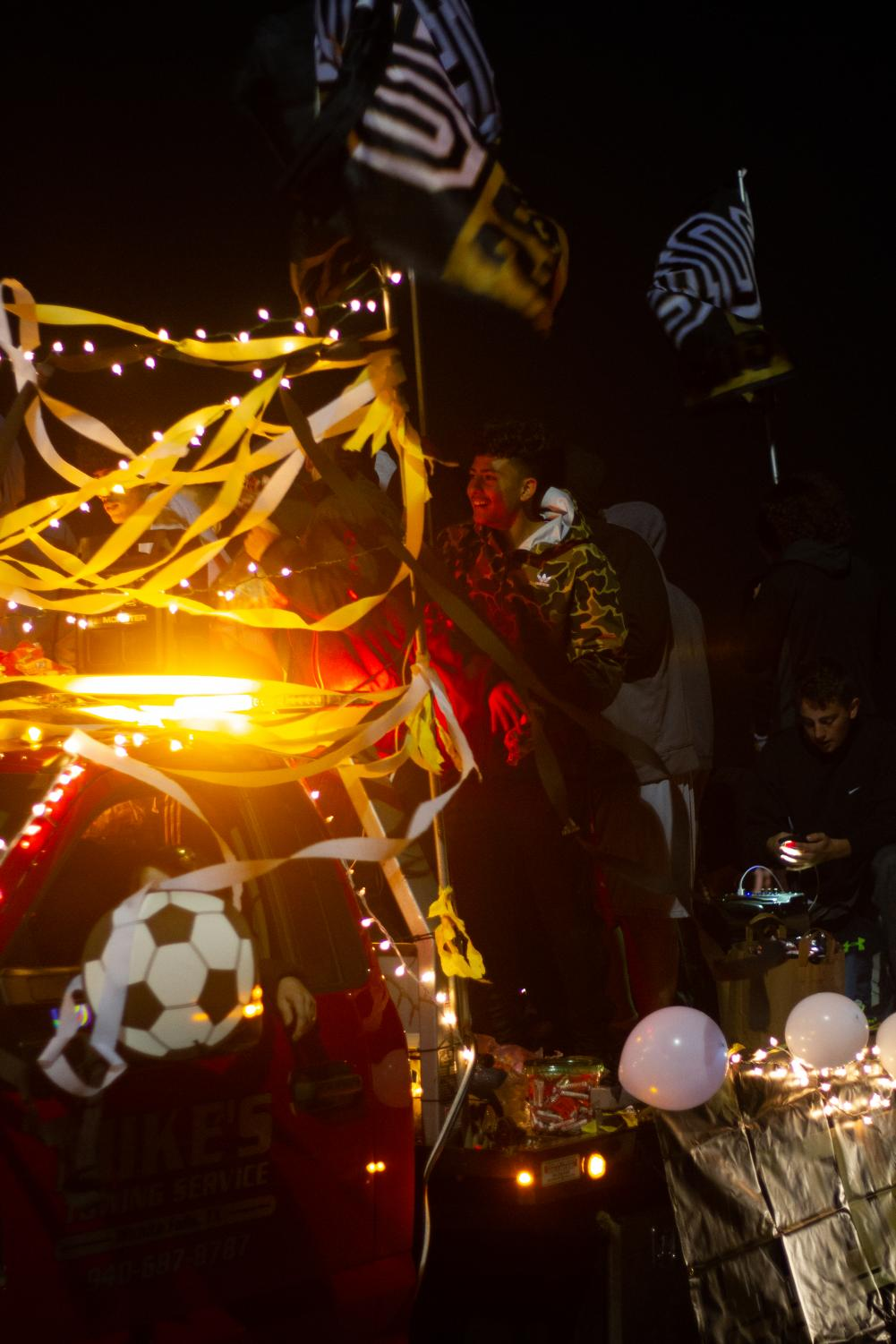 Last year in the Happening parade featured many organizations floats.