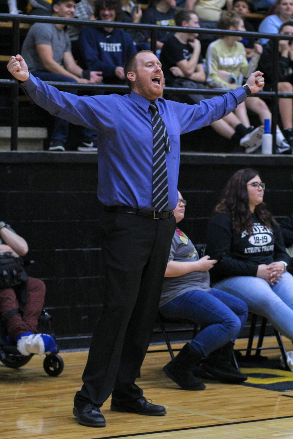 Rider basketball coach Cliff McGuire is entering his seventh season leading the program.