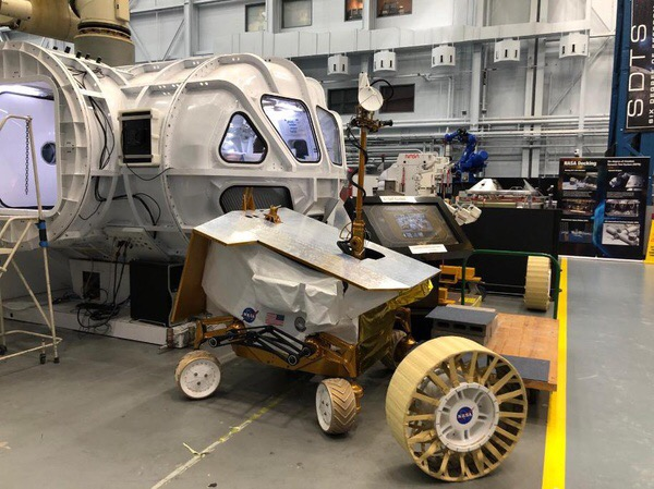 Katherine Parham and her NASA colleagues are working on colonizing the moon.