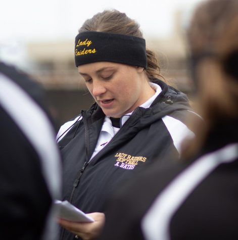 Rider's Abby Bates is entering her second season as the head softball coach.
