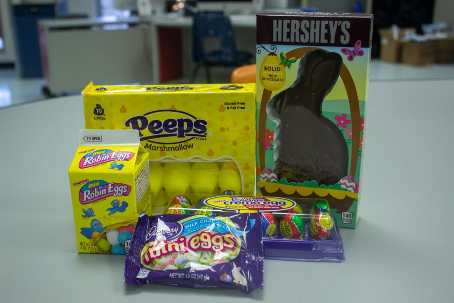 Hoppy-ness comes from Easter candy