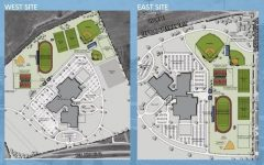 The plans for the new high schools' athletic facilities, located on the East and West side of Wichita Falls, passed with a large majority vote.