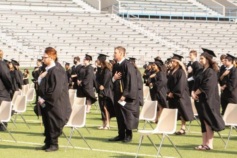 Rider seniors will be graduationg outside at Memorial again in 2021.