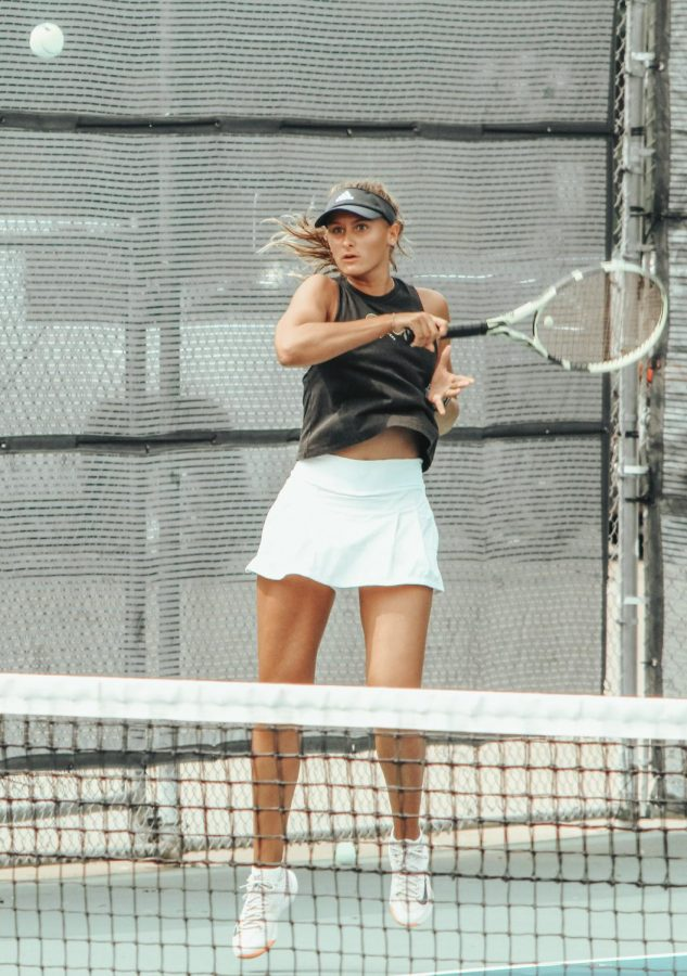 Axelle Jacquemin will compete for a state title on Thursday in San Antonio.
