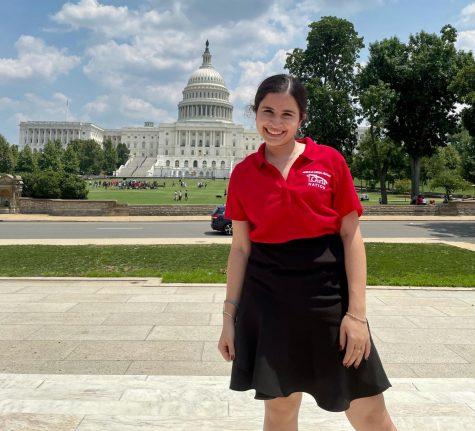 Tina Majdinasab was chosen as a Texas Senator for Girls Nation this summer.