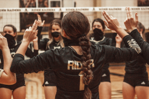 Cameron Chamberlain and other Lady Raiders are excited about the years volleyball season.