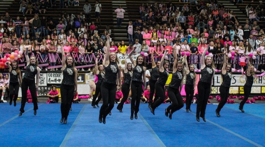 After a year of virtual pep rallies, Rider Raiders have their first in-person pep rally Friday.
