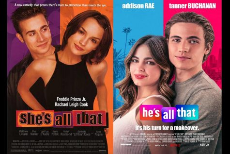 """More than 20 years after the original Shes all That movie came out, Netflix has produced a He's All That."""""""