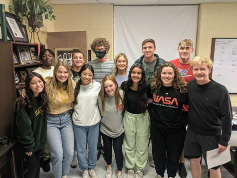 Kendrick Marks, Coleman Bledsoe, Tatum Avery, Karis Ward, Tate Caswell, Reese Frantom (top left to right) Sandra Le, Kate Christoff, Elaine Au, Isabella Groves, Nichole Music, Joshua Hawkins (bottom left to right) and Louis Lopez (not pictured) are among the nominees for Mr. and Miss Raider.