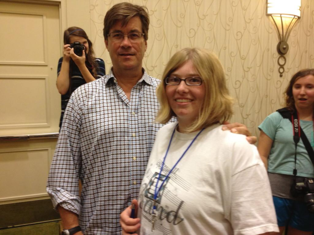 Student Meets Nationally Renowned Writer At Camp