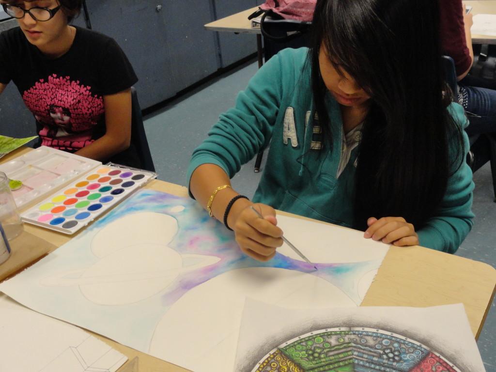 AP Studio Art Prepares Students For College, Allows Expression In Portfolio