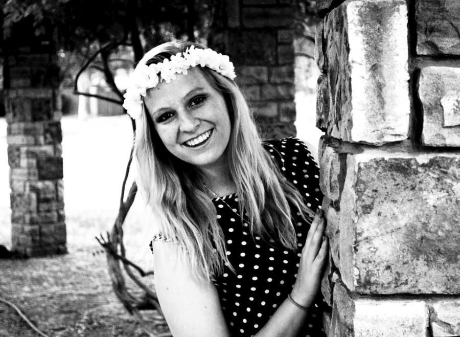Senior Mary Forney senior pictures were taken by senior Jaycee Walden who has started a photography business, PPJ.