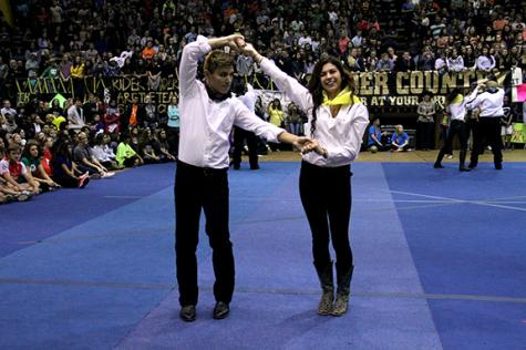 Mr. and Miss Raider Announced at Round-Up Dance