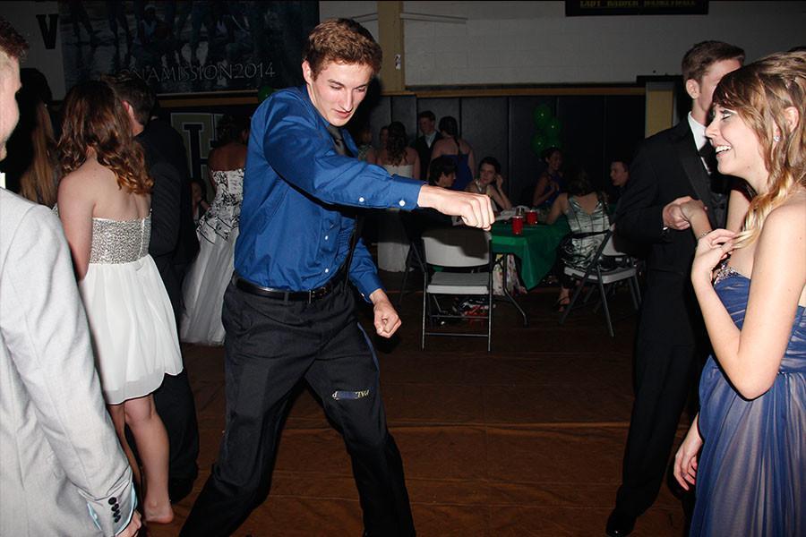 Senior Zach Spicer