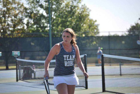 Junior Taylor Gray placed second at the District, Regionals and State UIL Tennis Competition.