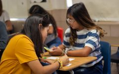 After the event on August 3, 2019 in El Paso Texas, The PALS teacher, Marina King, had her students work on postcards to send to the survivors.