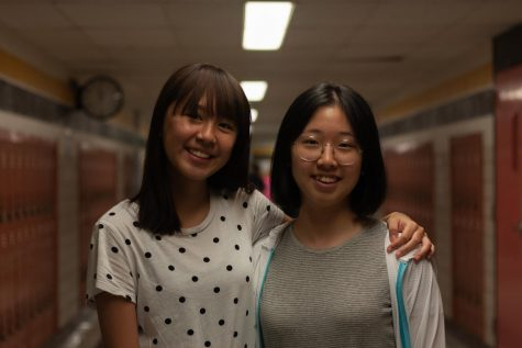 Mickey Limchitti (left) and Juhye Tak (right) are living together in Wichita Falls.