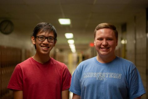 Seniors Viet Tran and Damion Fisher have aspirations to attend Ivy League universities after graduating from high school.
