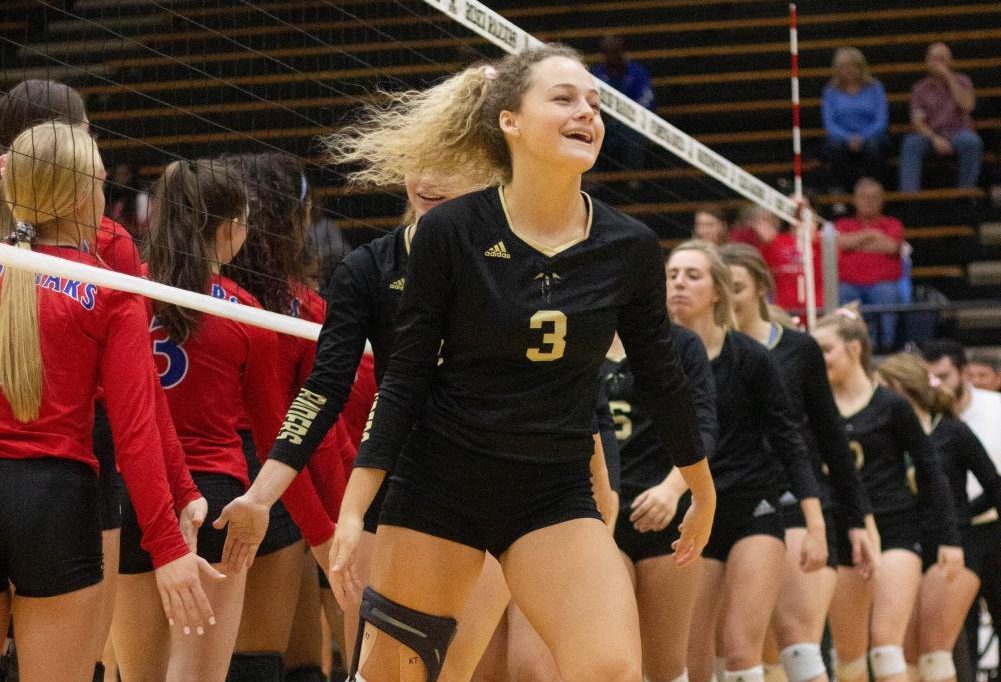 Emily Stolt is ready for her last playoff run with the Rider volleyball team.
