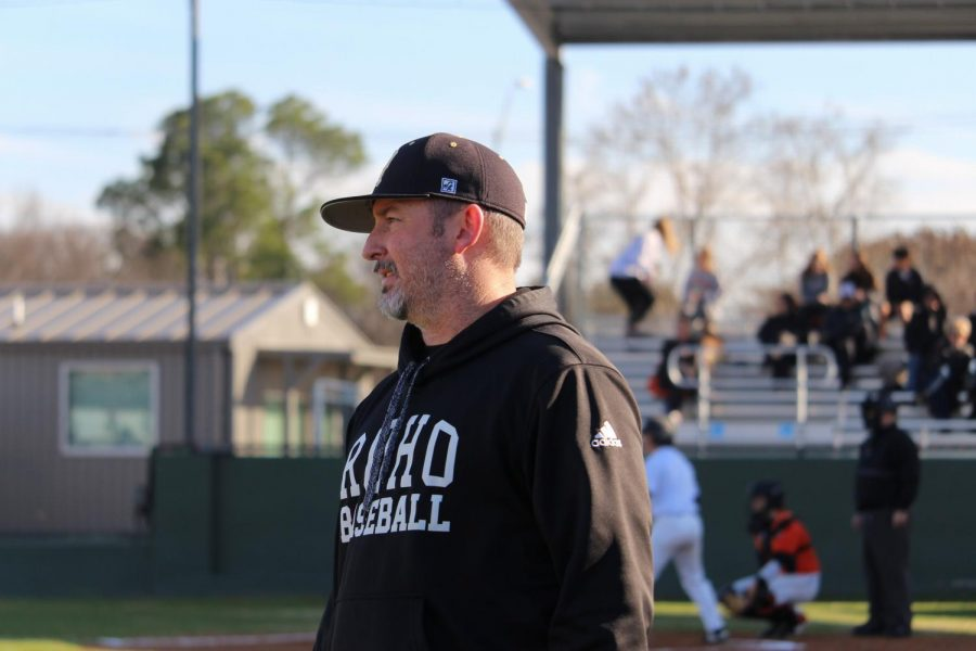 Rider baseball coach Jeremy Crouch is expecting a strong season in 2020