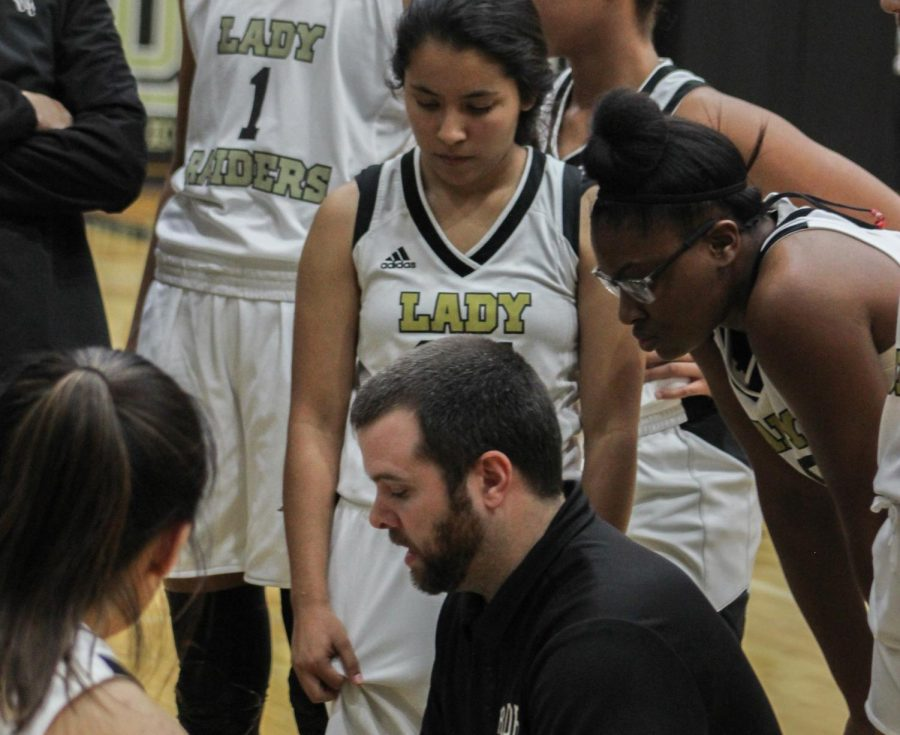 The+Rider+girls+basketball+team+is+coming+off+its+most+successful+season+under+coach+Kendall+Webb.+