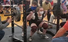 Jordan Tolleson is new to powerlifting this year.