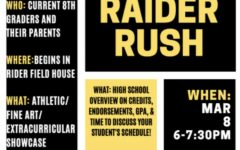 Pushing on with Raider Rush
