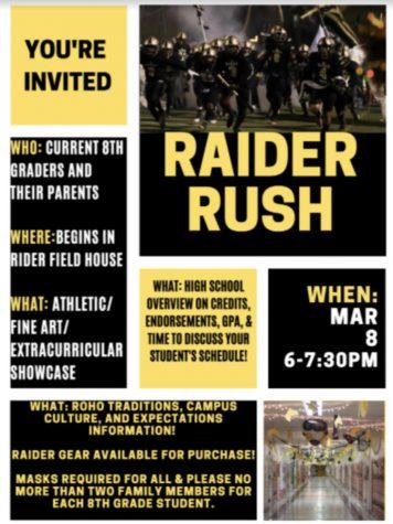 Pushing on with Raider Rush