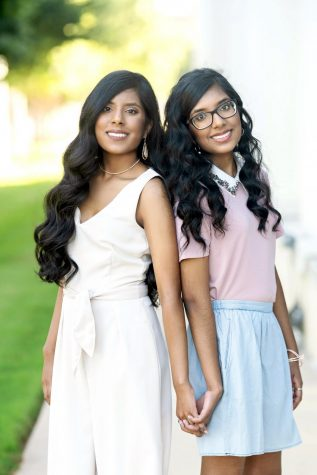Lisa (left) and Risha Parmar are the only members of the Class of 2021 graduating with 5.0 GPAs.