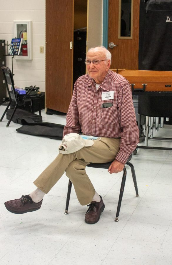 Harold Jackson recently visited Rider to talk with the current band members.