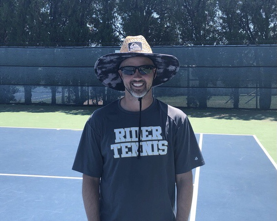 Dale Murdock is entering his first year of coaching tennis at Rider.