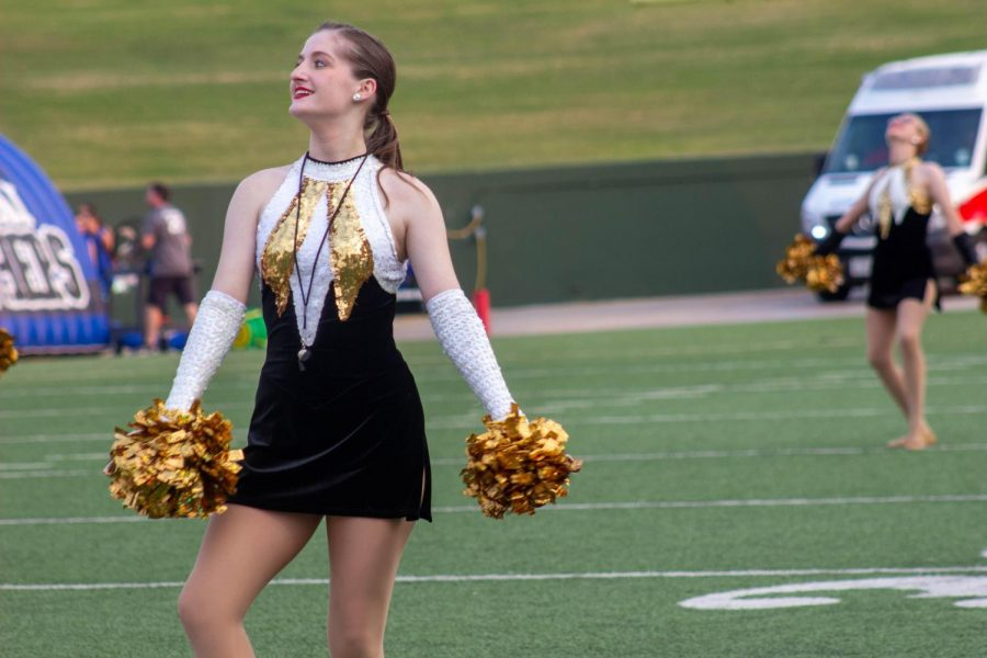 Delaney+Hale+is+the+Raiderettes+captain+during+her+senior+year.+