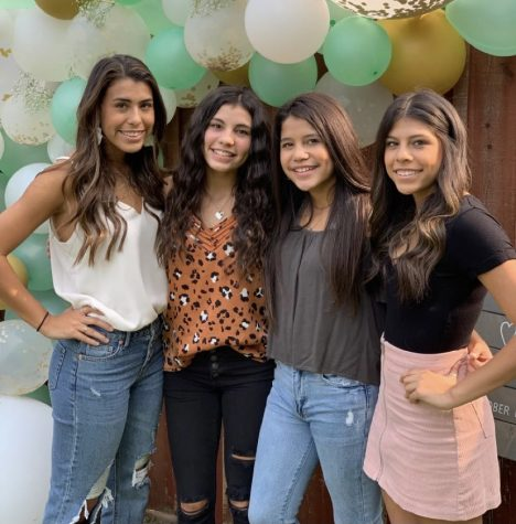 Jadyn, Bailee, Bella and Kensee (left to right) are sisters who all attend Rider.