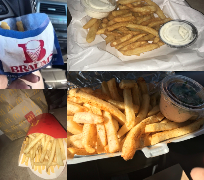No two types of fries are the same after making a few stops at local restaurants.